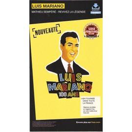 rare PLV cartonnée rigide 14x25cm LUIS MARIANO / MATHIEU SEMPERE revivez la légende / magasins FNAC