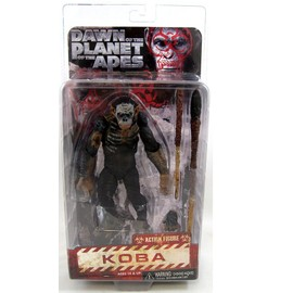 Dawn Of The Planet Of The Apes - Koba - 17.5 Cm Scale Action Figure Dawn Of The Planet Of The Apes - Koba - 17,5 Cm Echelle Action Figure