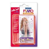 Moule Flexible En Silicone (Push Mould) - Poup�e - Fimo