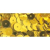 Sequins - Or Jaune - � 6 Mm - Lisses - Bo�te 6 G - Lavable - Rayher