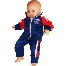 Surv�tement B�b� Psg : Veste + Pantalon - Collection Officielle Paris Saint Germain - Taille Baby Gar�on - Football Ligue 1