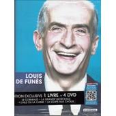 Louis De Fun�s - Coffret Livre - La Grande Vadrouille + Le Corniaud + La Soupe Aux Choux + L'aile Ou La Cuisse de G�rard Oury
