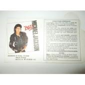 Vends Ticket Concert Michael Jackson Parc Des Princes 1988