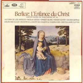 hector berlioz : l'enfance du Christ, cantate sacrée en trois parties, opus 25  (la voix de son maître  canhs 170 & 171)