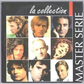 CD COLLECTOR MASTER SERIE 9 TITRES JOHNNY HALLYDAY CLAUDE FRANçOIS NINO FERRER EDITH PIAF TRES RARE