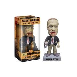 The Walking Dead Wacky Wobbler Bobble Head New Merle Zombie 18 Cm