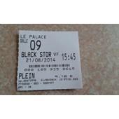 Ticket De Cin�ma Black Storm 21/08/2014