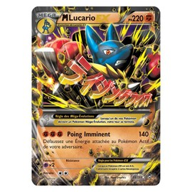 Carte Pok�mon Mega M Lucario Ex - 220pv