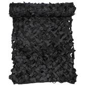 Filet De Camouflage Noir 3 X 2m Polyester
