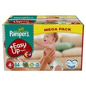 Pampers - 81376088 - Easy Up Couches Culottes - Taille 4 Maxi - 8-15 Kg - Megapack X 84 Couches