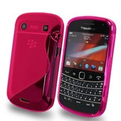 Blackberry Bold Touch 9900/ Dakota/ Magnum: Housse Etui Pochette Coque S Silicone Gel Rose