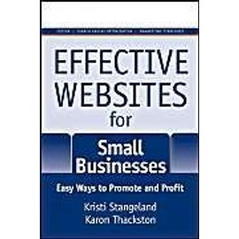 Effective Websites for Small Businesses: Easy Ways to Promote and Profit - Kristi Stangeland
