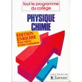 Physique-Chimie - Tout Le Programme Du Coll�ge de odilon redon