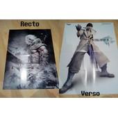 Poster Recto/Verso: Nier Et Final Fantasy Xiii