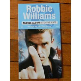 "PLV Robbie Williams album ""intensive care"""