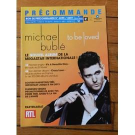 Bon précommande Michael Bublé
