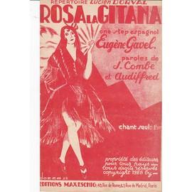 ROSA LA GITANA (One-step espagnol , Lucien Dorval)