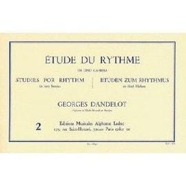 Etude du rythme Cahier 2 de Georges Dandelot