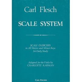 Le Système des Gammes - Alto - scale system Arrangeur : Charlotte Karman