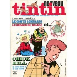 Nouveau Tintin Nouvelle Serie N 14 N� 154 : Le Comte Lombardi