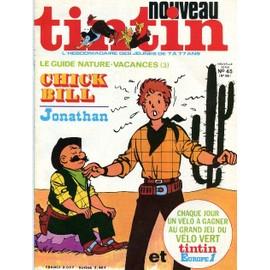 Nouveau Tintin Nouvelle Serie N 45 N� 185 : Le Guide Nature Vacances 3