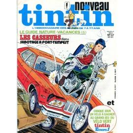 Nouveau Tintin Nouvelle Serie N 47 N� 187 : Le Guide Nature Vacances 5