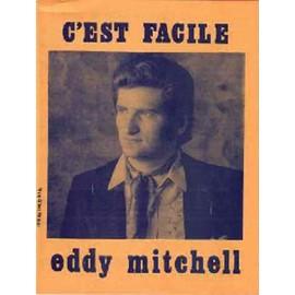 Partition vintage - C'est facile - Eddy Mitchell - Edition le Rideau Rouge