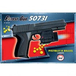 Pistolet � Billes Lumi�re 19 Cms