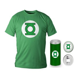 Dc Comics - T-Shirt Green Lantern Logo Deluxe Edition (Xl)