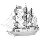Maquette Metal Earth Black Pearl Pirate Ship