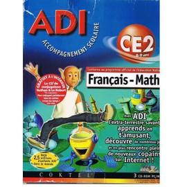 Adi 4 Francais-Maths Niveau Ce2 (8-9 Ans), Version 4.1