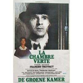 affiche belge du film de fran ois truffaut de 1978 la chambre verte avec fran ois truffaut et