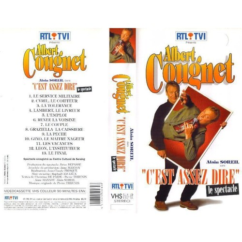 dvd albert cougnet