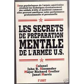 Les secrets de préparation mentale de l'armée U.S.