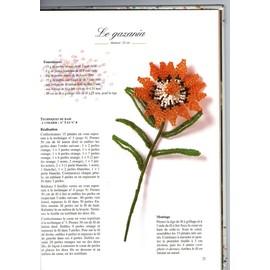 perle de rocaille fleur bouquet