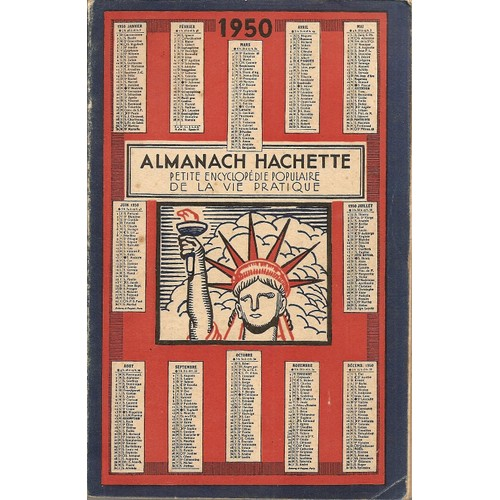 almanach hachette 1950 livre achat vente neuf occasion. Black Bedroom Furniture Sets. Home Design Ideas