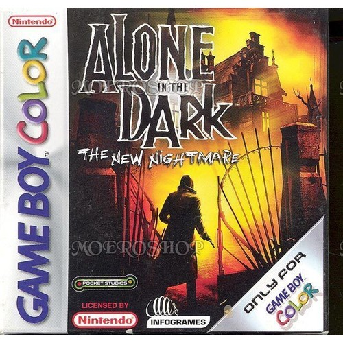 alone in the dark game boy color - Acheter Game Boy Color Neuve