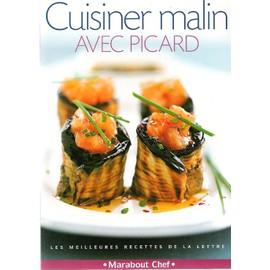 Votre bibliothèque culinaire Andrieu-Julie-Cuisinee-Malin-Avec-Picard-Livre-295043430_ML