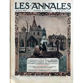 Annales Politiques Et Litteraires (Les) N� 1660 Du 18/04/1915