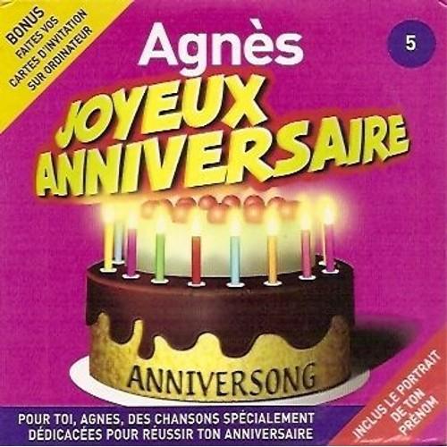 Joyeux Anniversaire Agnes Anniversong Cd Album Rakuten