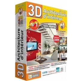 Architecture d 39 int rieur 3d 2009 achat et vente - Logiciel architecture interieur 3d ...