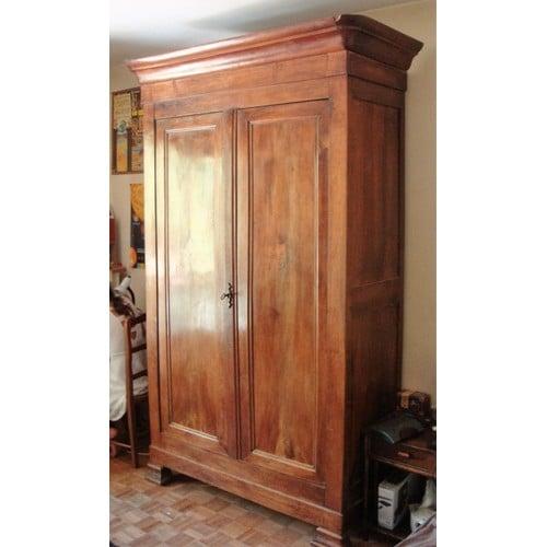 armoire ancienne en noyer achat vente de mobilier priceminister rakuten. Black Bedroom Furniture Sets. Home Design Ideas