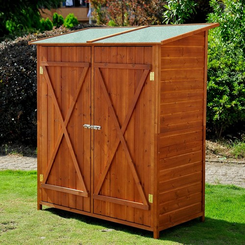 armoire de jardin bois pas cher ou d\'occasion sur Rakuten