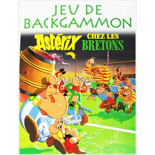 Astérix -  Jeu de Backgammon