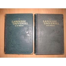 encyclopedie larousse en 2 volumes