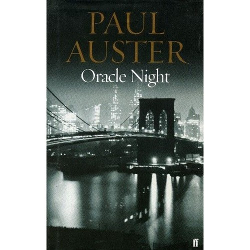 Oracle Night Auster Faber Relie 10 03
