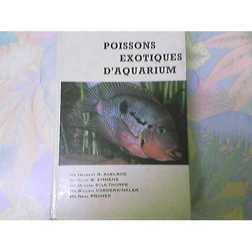 poissons exotiques d 39 aquarium de h r axelrod neuf occasion. Black Bedroom Furniture Sets. Home Design Ideas