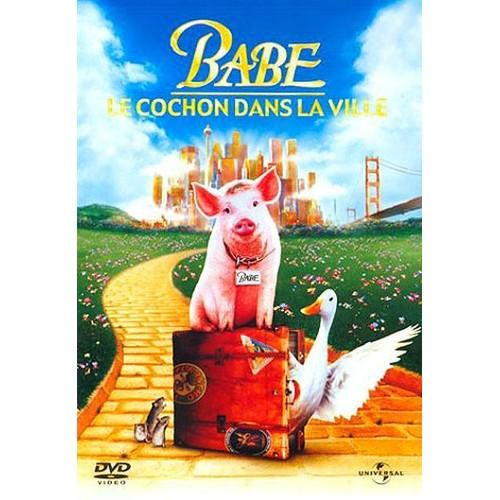 Babe 2 le cochon dans la ville dvd zone 2 priceminister rakuten - Papa cochon a la piscine ...