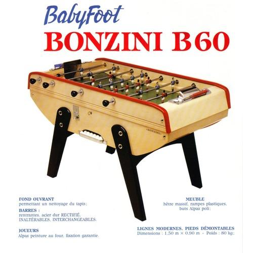 baby foot imitation bonzini