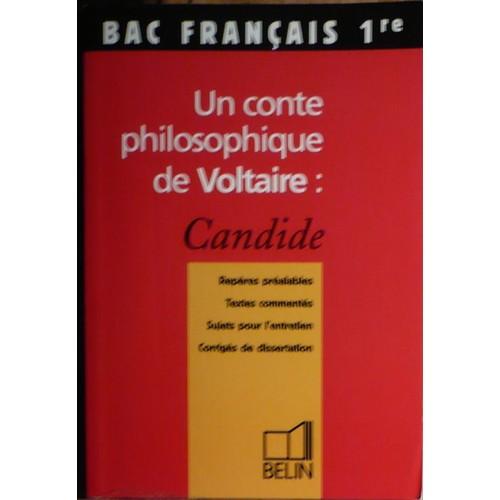 Les Contes Philosophiques De Voltaire Dissertation – 868334